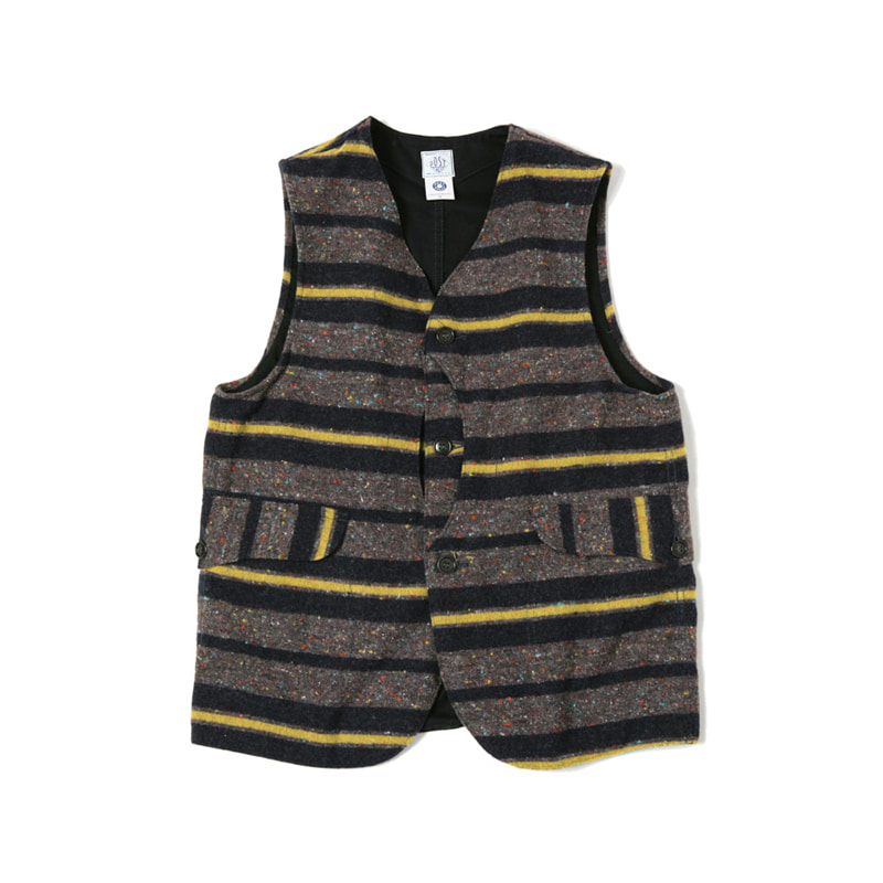 ROYAL TRAVELER VEST - GREY/YELLOW