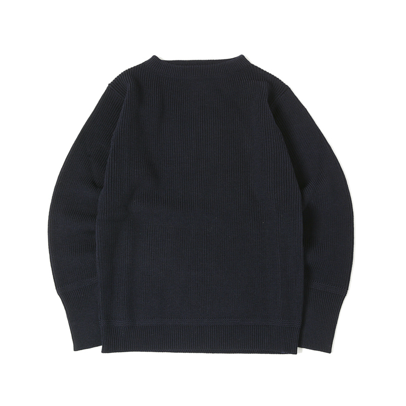 SAILOR CREWNECK SWEATER - NAVY BLUE