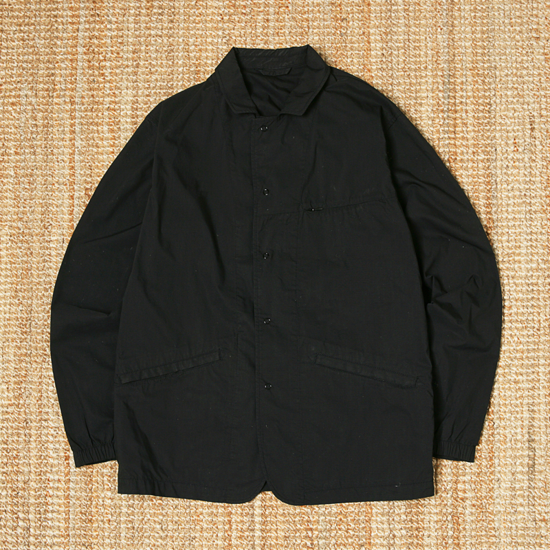 PILGRIM SURF SUPPLY WORK JACKET - BLACK