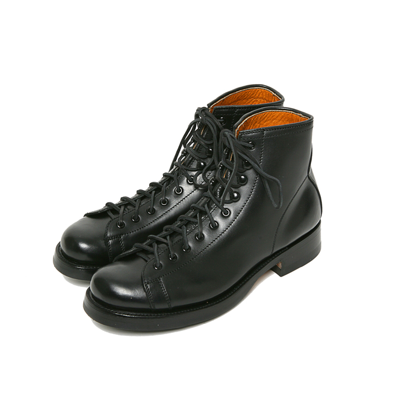 POLISH WORK BOOTS - BLACK