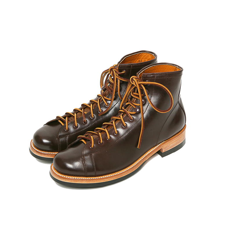 POLISH WORK BOOTS - BROWN