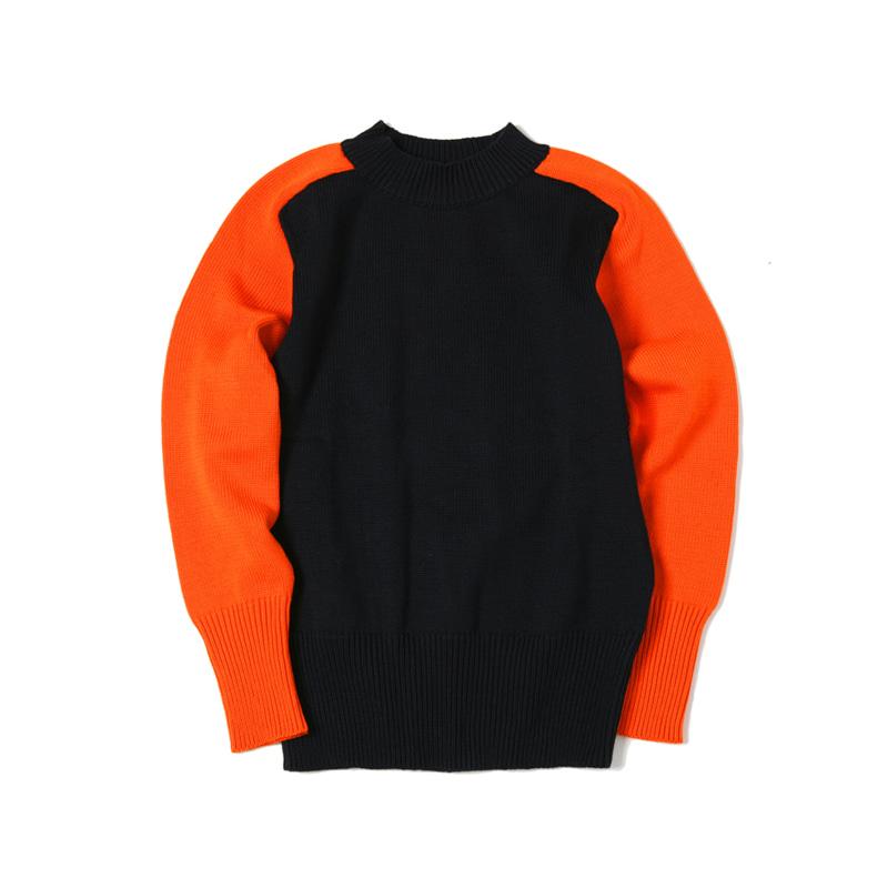 HEAVY COTTON THE CADET - NAVY/ORANGE