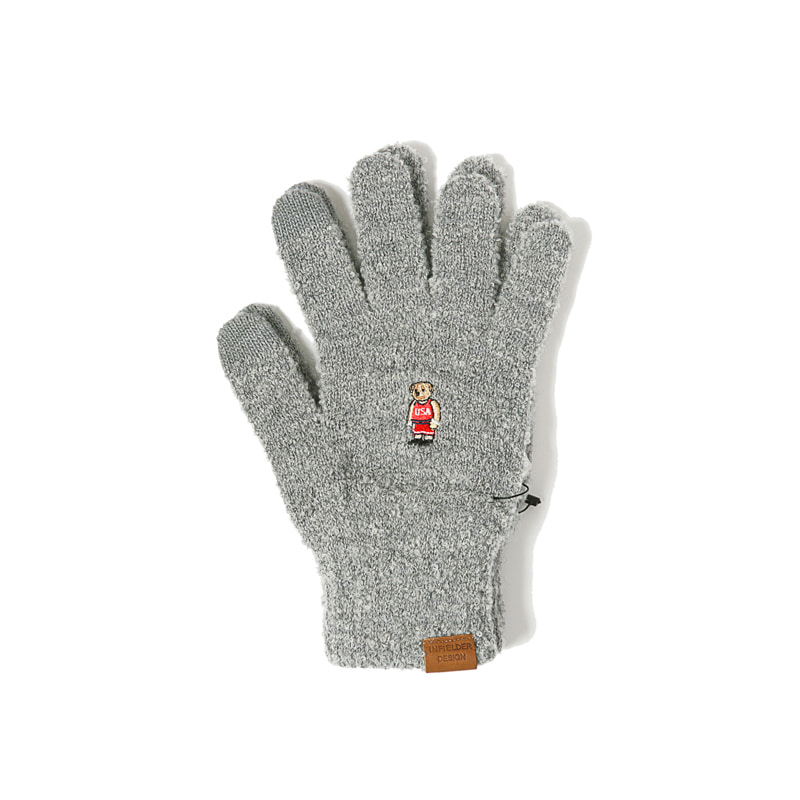 BEAR GLOVES - GREY