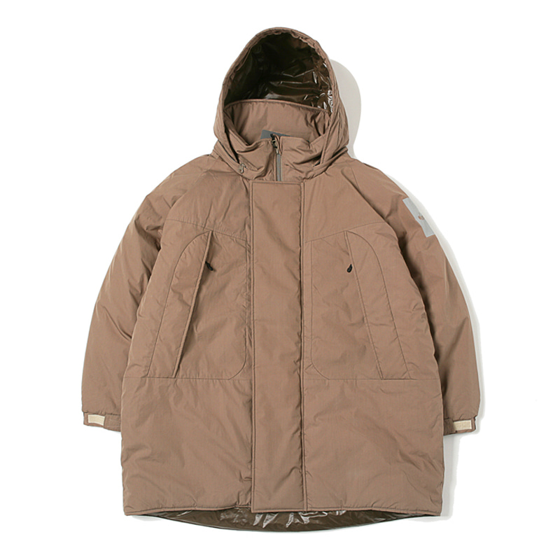 MONSTER PARKA - TAUPE