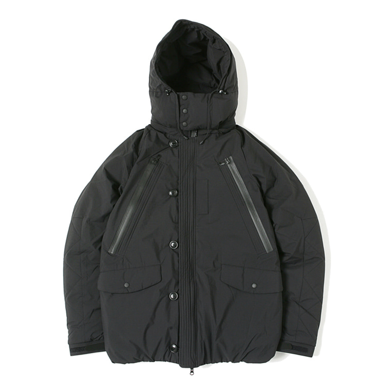 FT N3B TYPE A  JACKET - BLACK