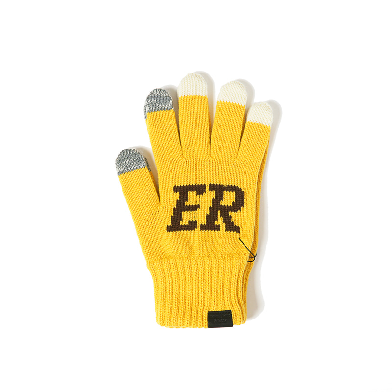 BEER GLOVES - YELLOW