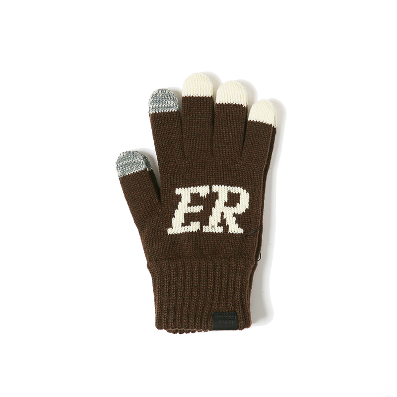 BEER GLOVES - BROWN