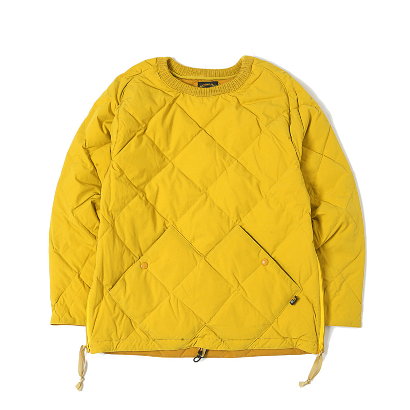 PULLOVER STRETCH DOWN - MUSTARD