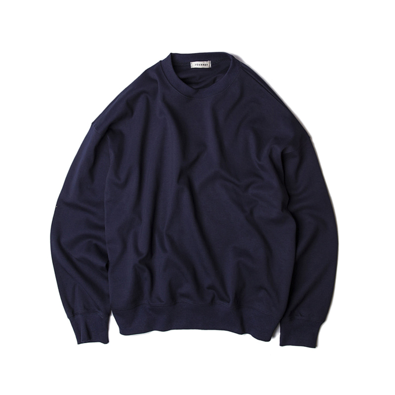 BLANK SWEAT SHIRTS - NAVY