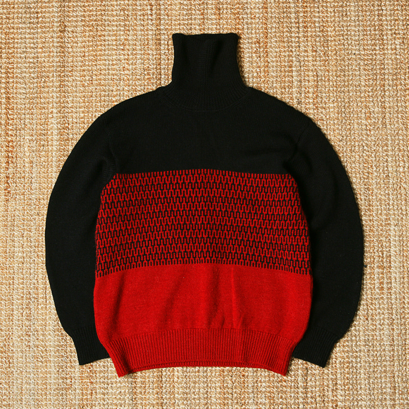 HAVERSACK MOCK NECK KNIT