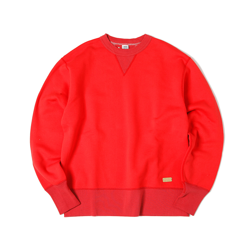40TH ANNIVERSARY GUSSET CREW SWEATSHIRTS - PURE RED