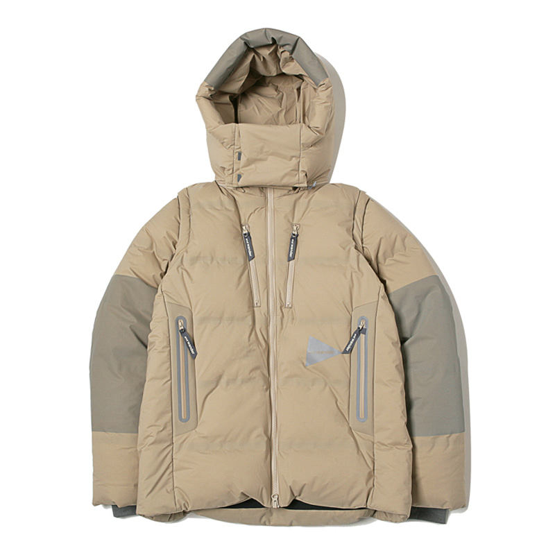 HEATHER RIP DOWN JACKET - BEIGE