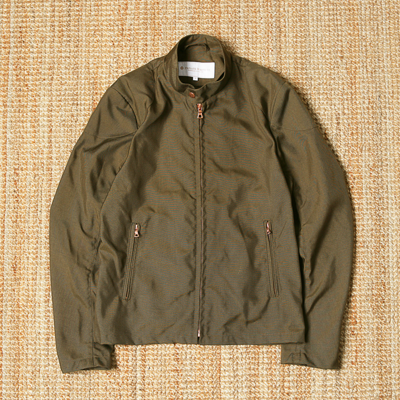 PRIVATE WHITE VC BLOUSON - BROWN