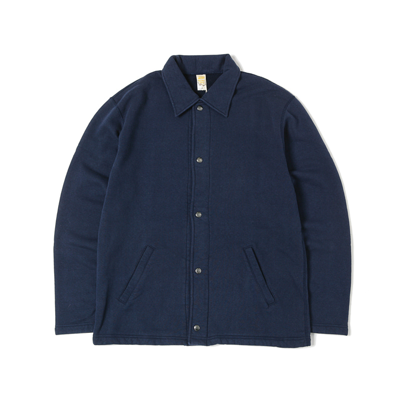 TSURI-AMI SWEAT COACH JACKET - NAVY