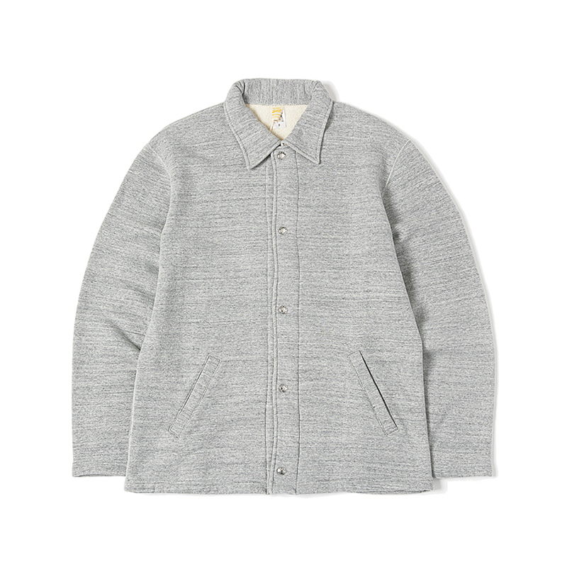 TSURI-AMI SWEAT COACH JACKET - GREY