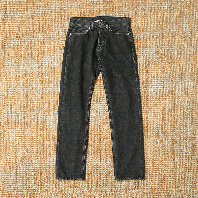 OUR LEGACY BLACK USED DENIM JEAN