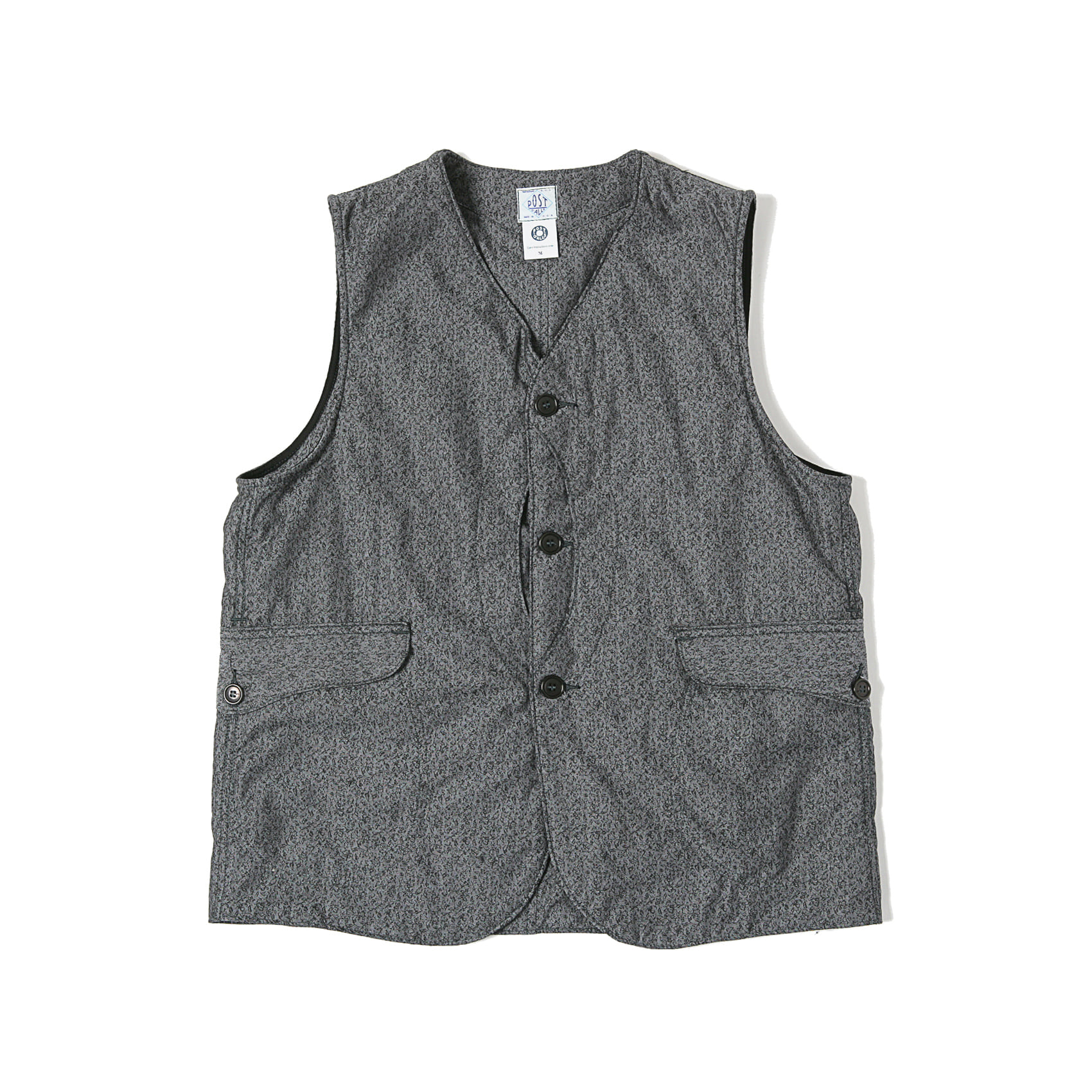 ROYAL TRAVELER VEST - GREY
