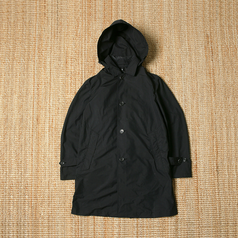 B.MING MAC COAT - BLACK