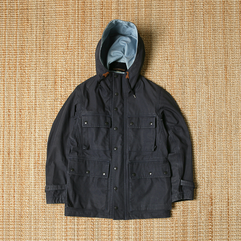 NANAMICA GORE-TEX MOUNTAIN PARKA - NAVY