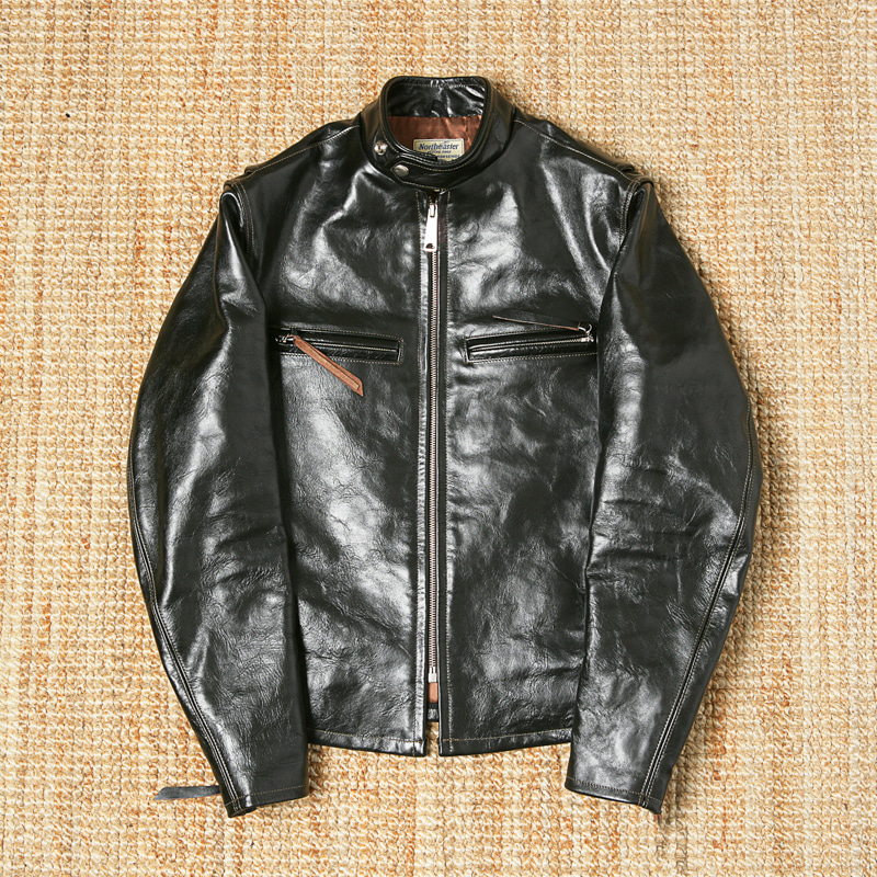 BECK NORTHEASTER HORSEHIDE LEATHER JACKET