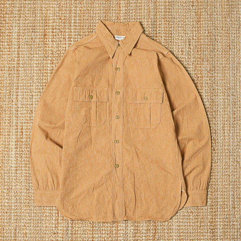 HELLER'S CAFE CHAMBRAY WORK SHIRTS