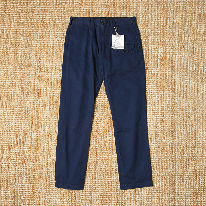 ENGINEERED GARMENTS GHURKA PANTS - NAVY