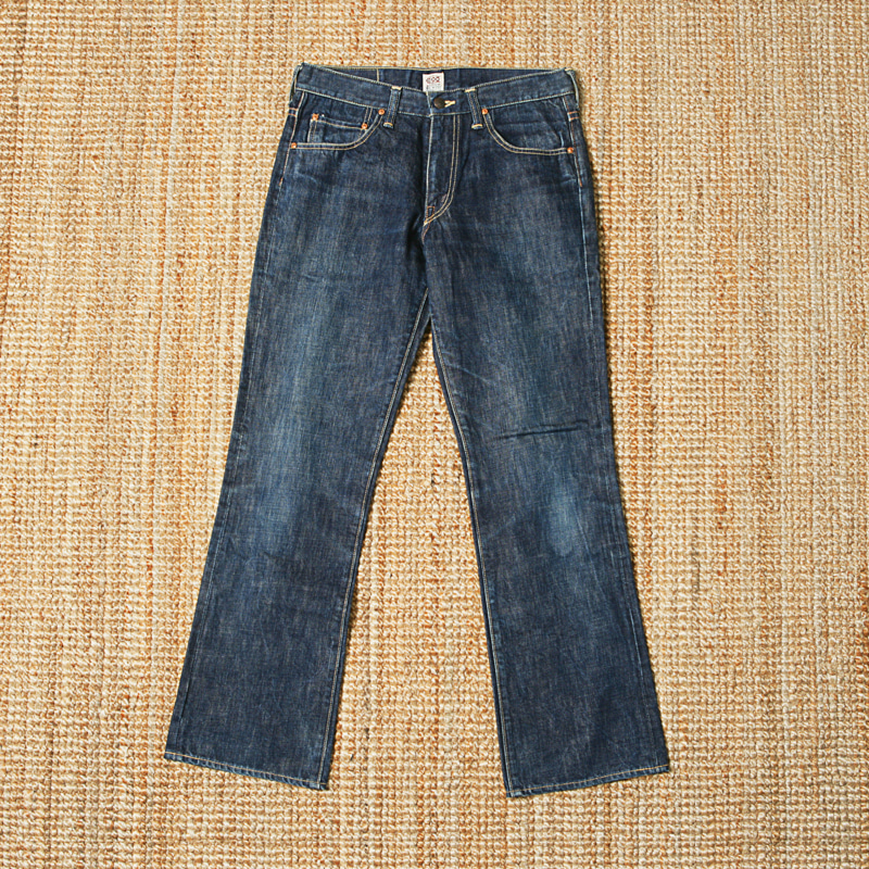 THE REAL MCCOYS 600 RANCH DENIM PANTS