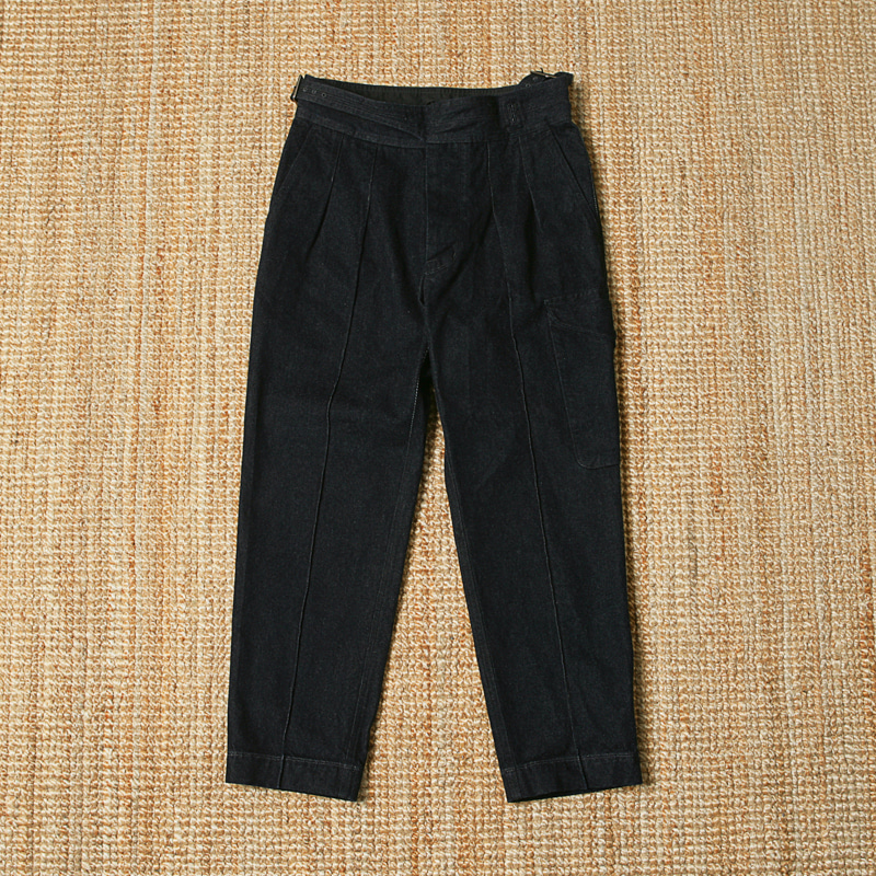EASTLOGUE GURKHA DENIM PANTS