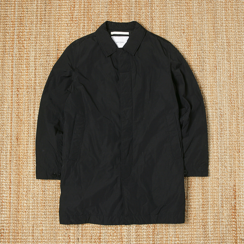 NORSE PROJECT PADDED SINGLE COAT - BLACK