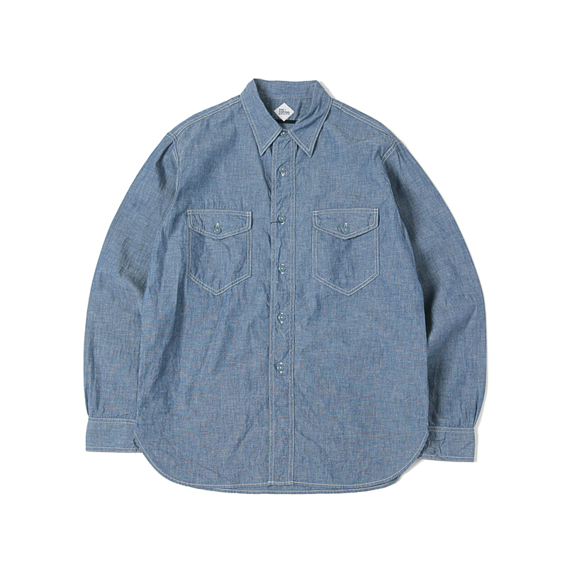CHAMBRAY SHIRTS - BLUE