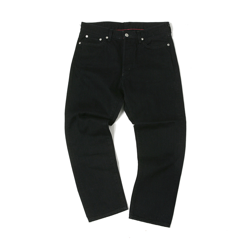 5 POCKET ANKLE DENIM PANTS - BLK OW