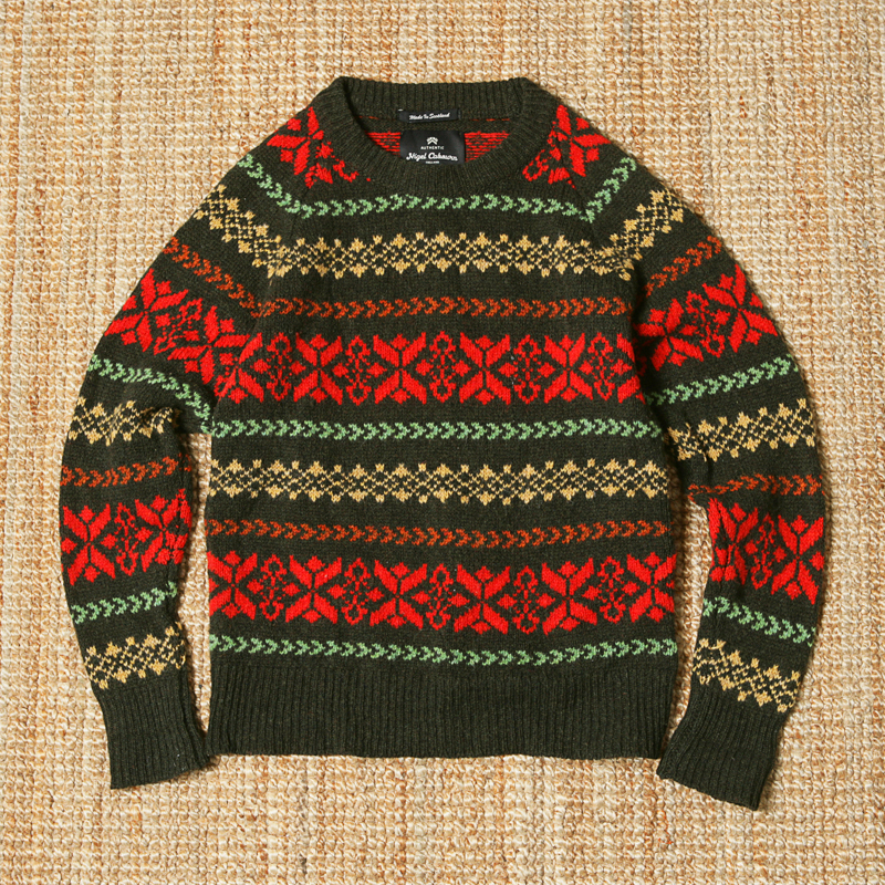 NIGEL CABOURN SWEATER