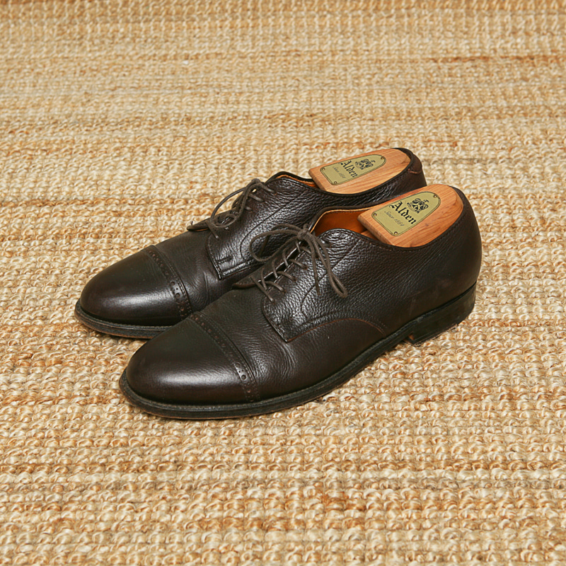 ALDEN BROGUE CAP TOE OXFORD