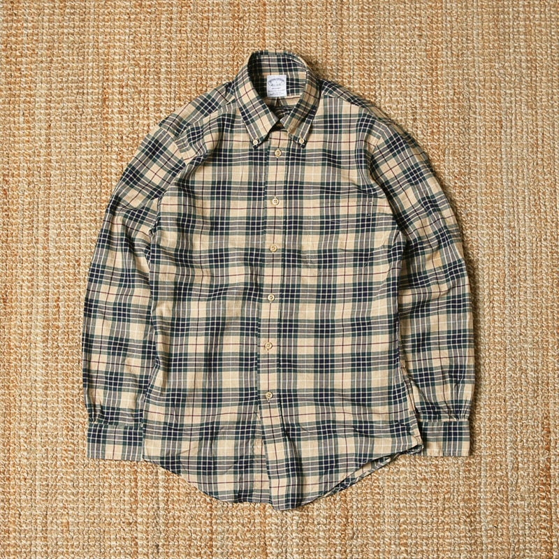 BROOKS BROTHERS NON IRON TARTAN SPORTS SHIRTS - REGENT FIT