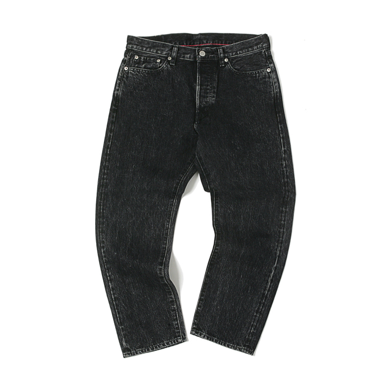 5 POCKET ANKLE DENIM PANTS - BLK USED
