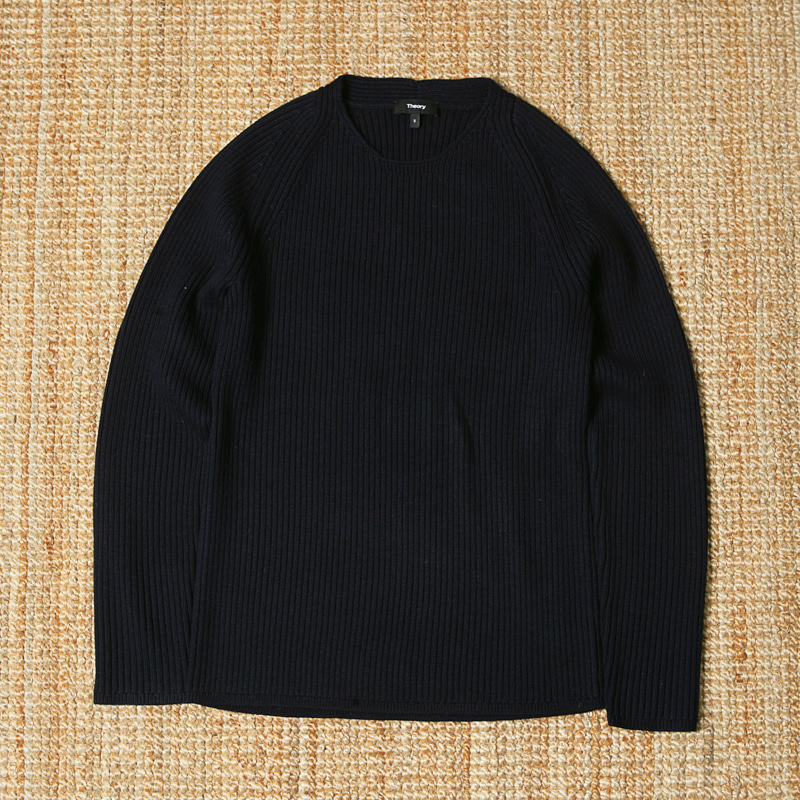 THEORY KNIT - NAVY