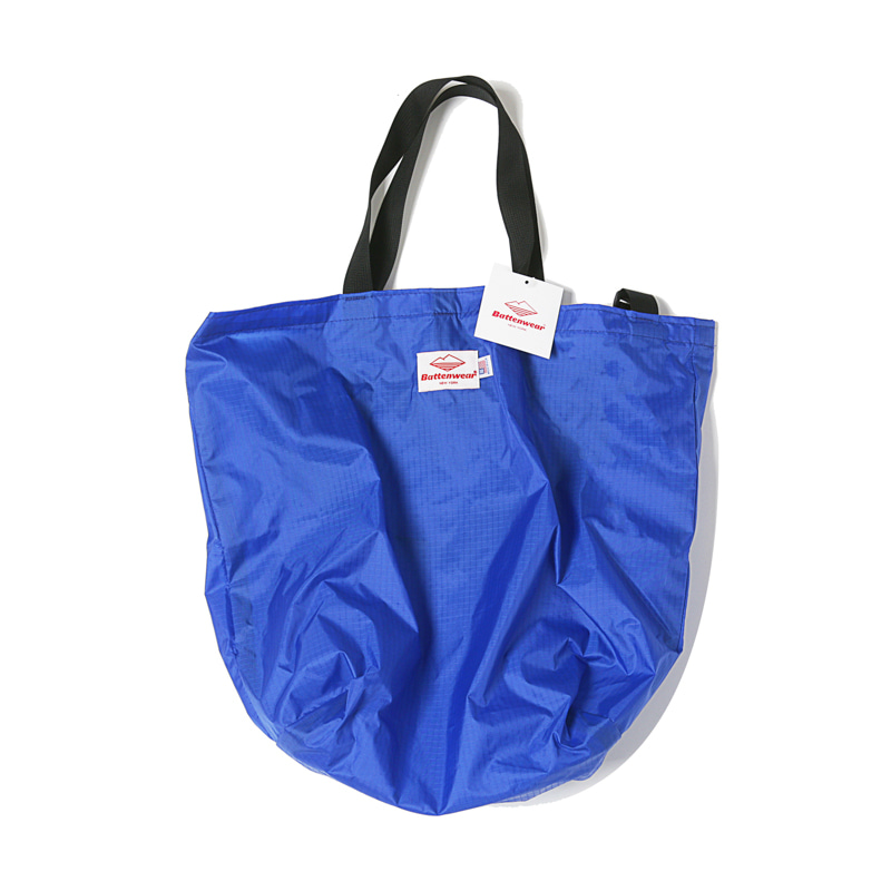 PACKABLE TOTE BAG - BLUE