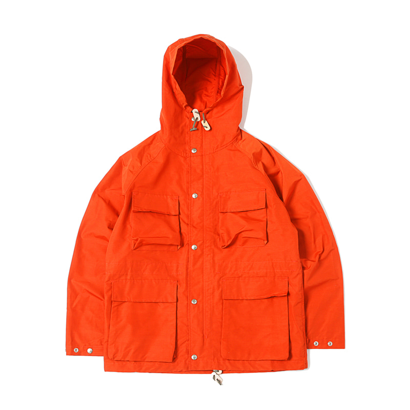 LIGHT SHELL PARKA - ORANGE