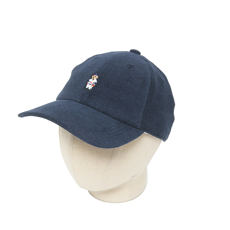 PILE BEAR CAP - NAVY
