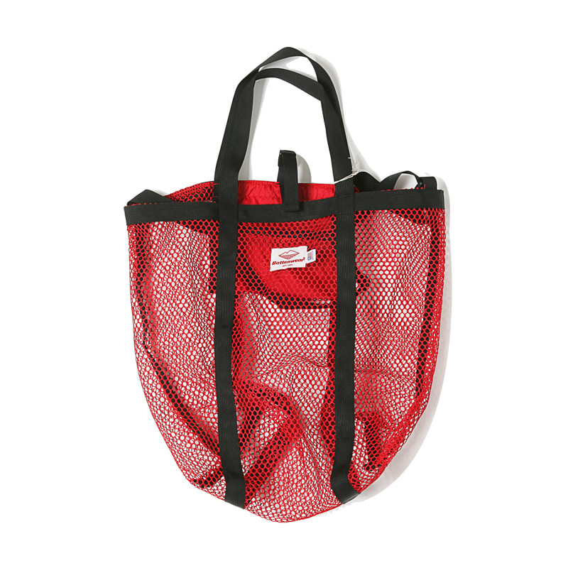 MESH TOTE - RED