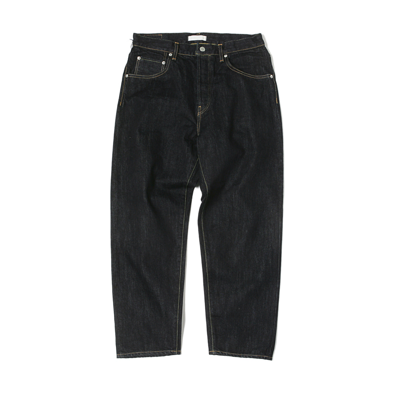 LOOSE TAPERED DENIM JEANS - ONE WASH