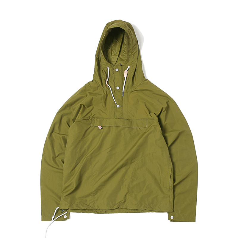 PACKABLE ANORAK - OLIVE