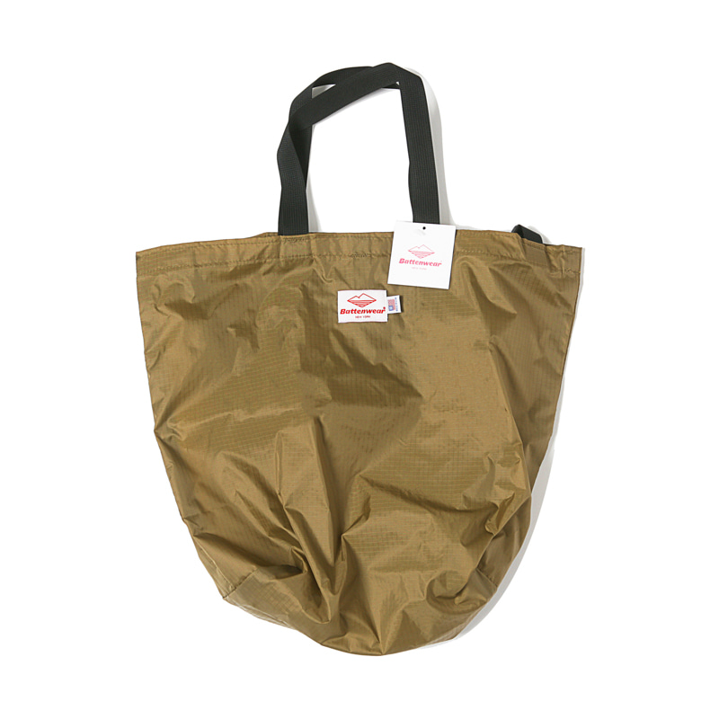 PACKABLE TOTE BAG - TAN