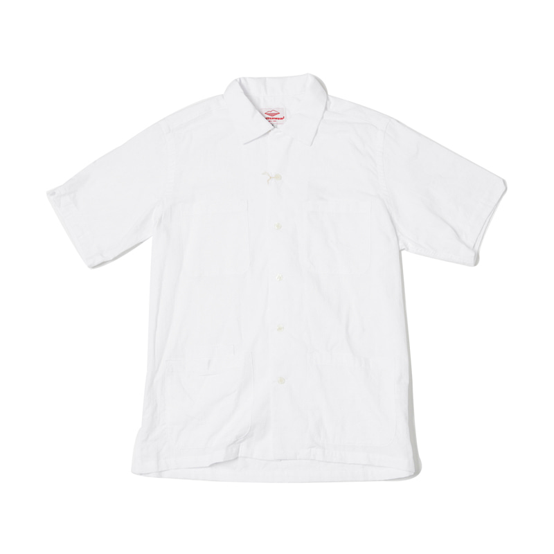 FIVE POCKET ISLAND SHIRT - WHITE