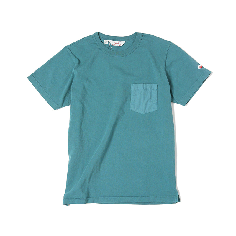 POCKET TEE SHIRT - TEAL