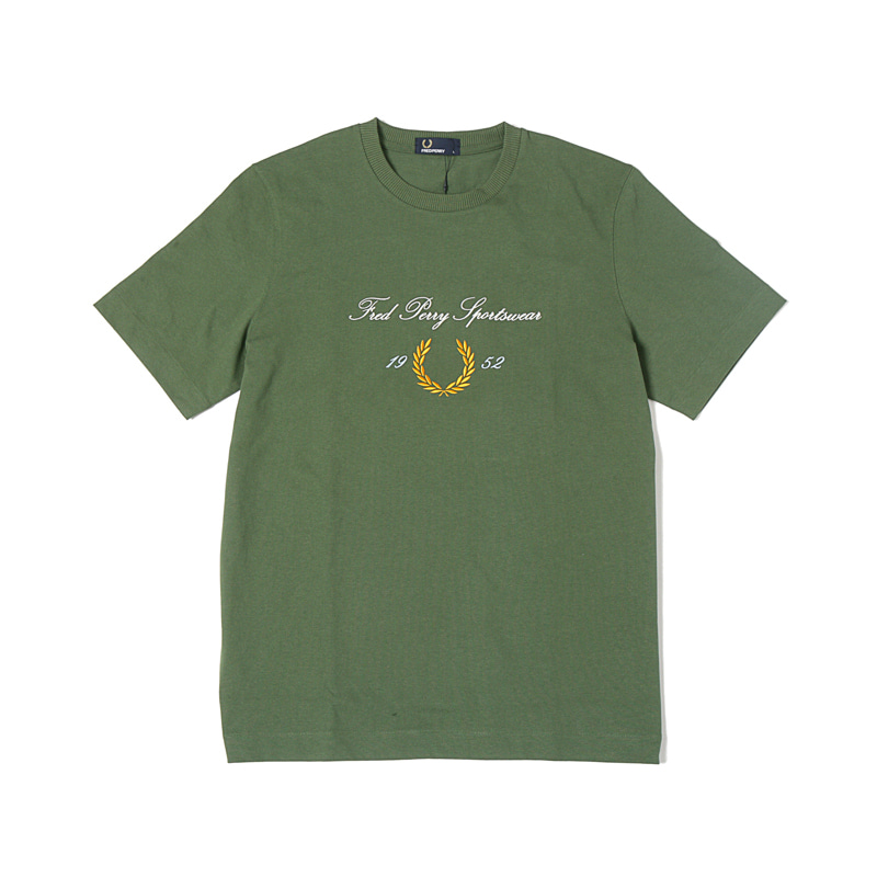 CIRCULAR EMBROIDERED T-SHIRTS - VINE