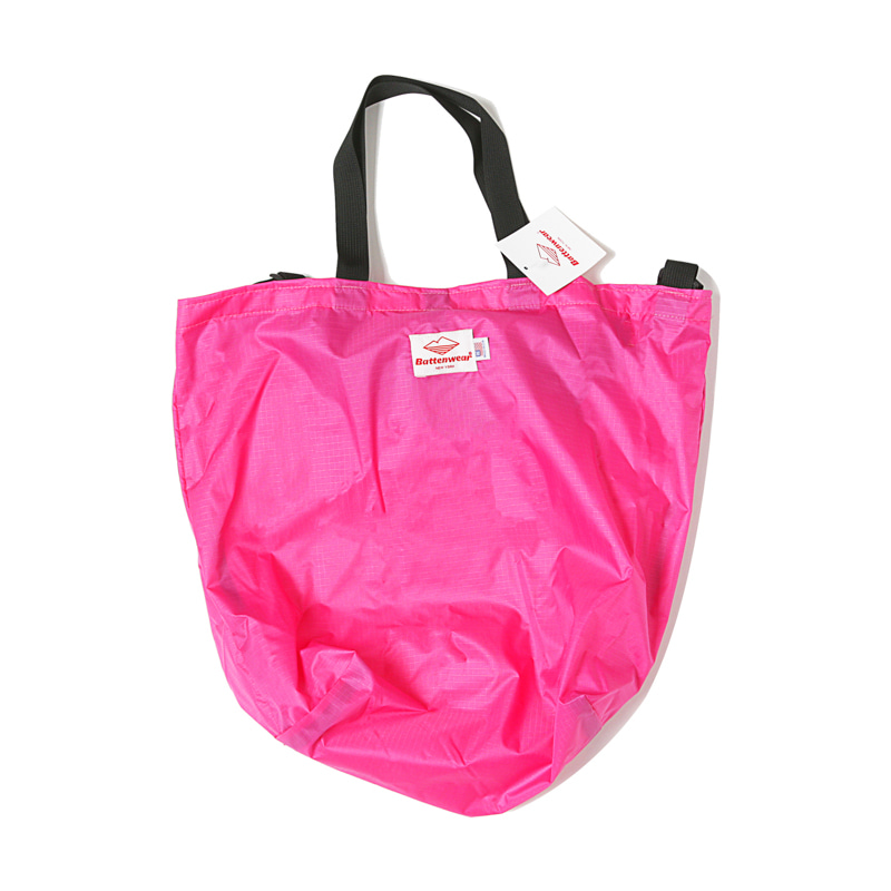 PACKABLE TOTE BAG - PINK