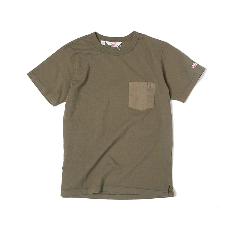 POCKET TEE SHIRT - OLIVE
