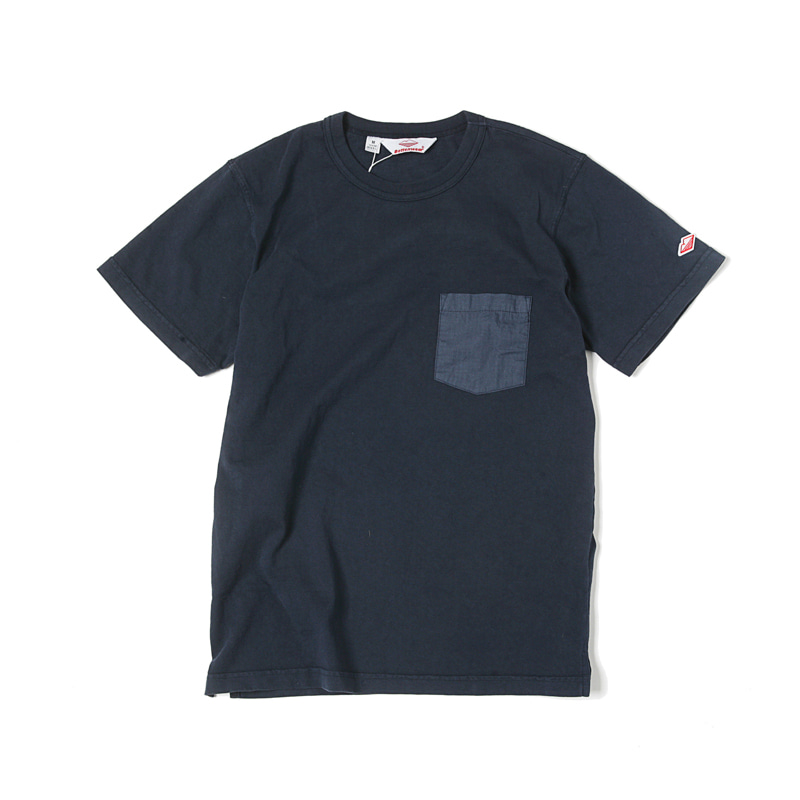 POCKET TEE SHIRT - NAVY