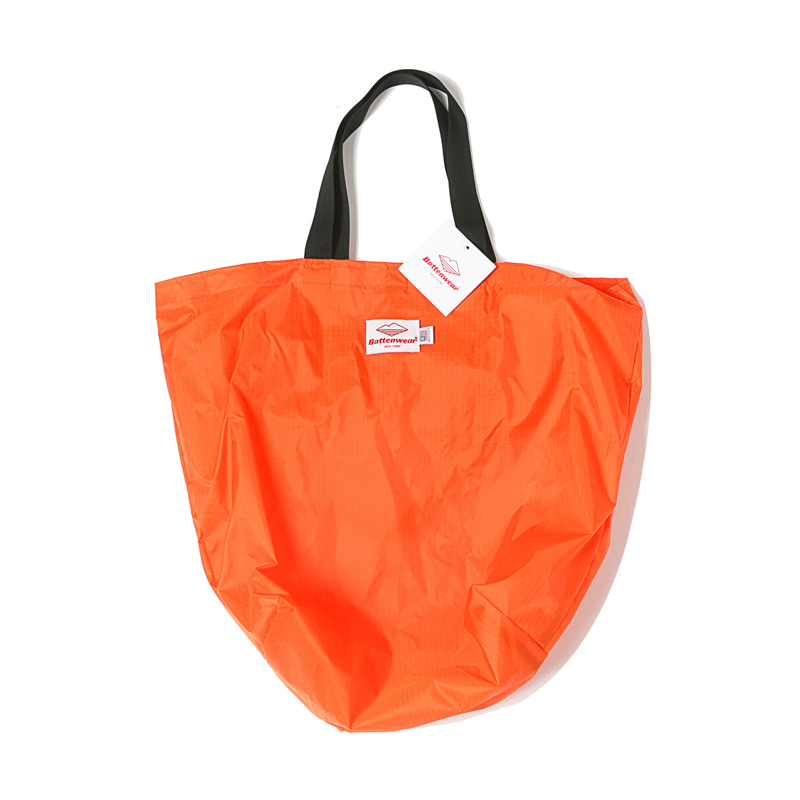 PACKABLE TOTE BAG - ORANGE